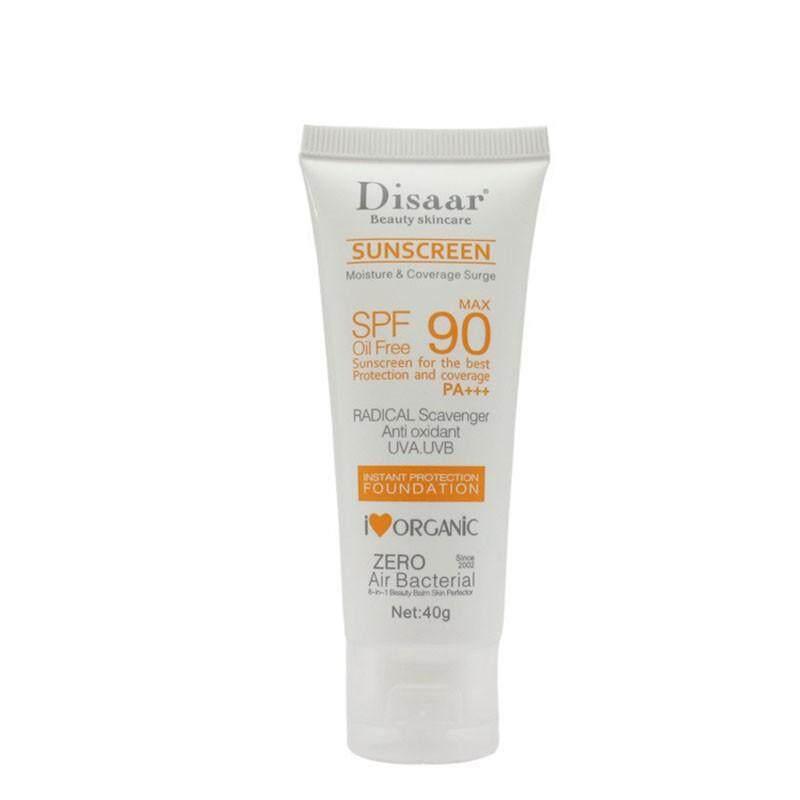 Ouyifan Spf90++ Sunscreen Cream Waterproof Sunblock Foundation Whitening  Isolation Moisturizing Oil Control Face Skin Care Cream