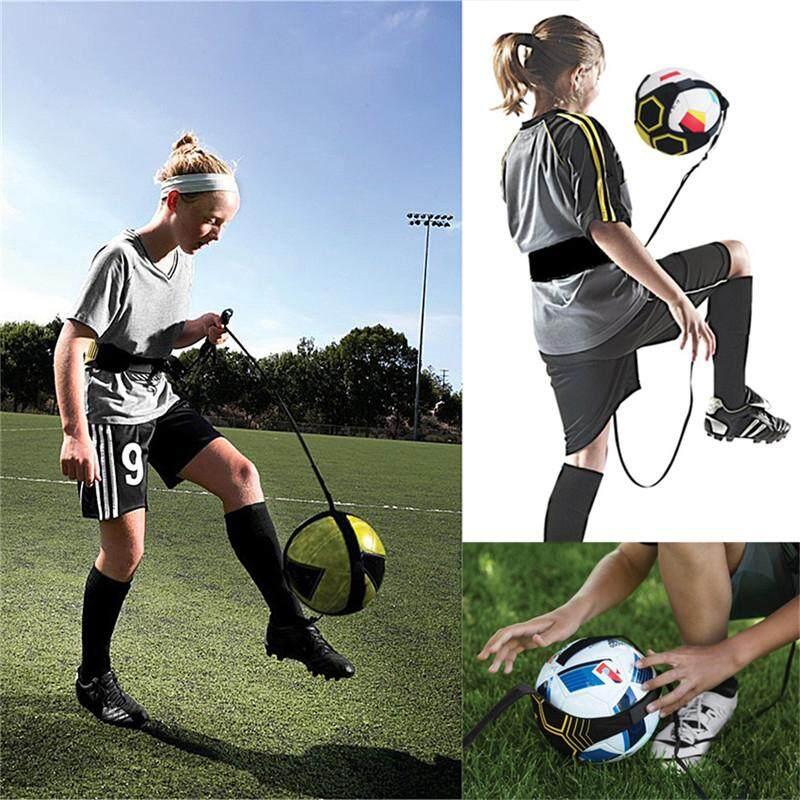 Adjustable Football Kick Trainer Soccer Ball Training Equipment  Elastic Belt 20