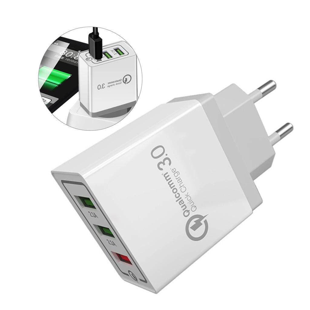 Universal QC3 0 18W USB Fast Charging 3 0V 3A for Iphone 5 7 8 US EU Mobile  Phone Plug Fast Charging Charger for Samsug s8 s9 Huawei