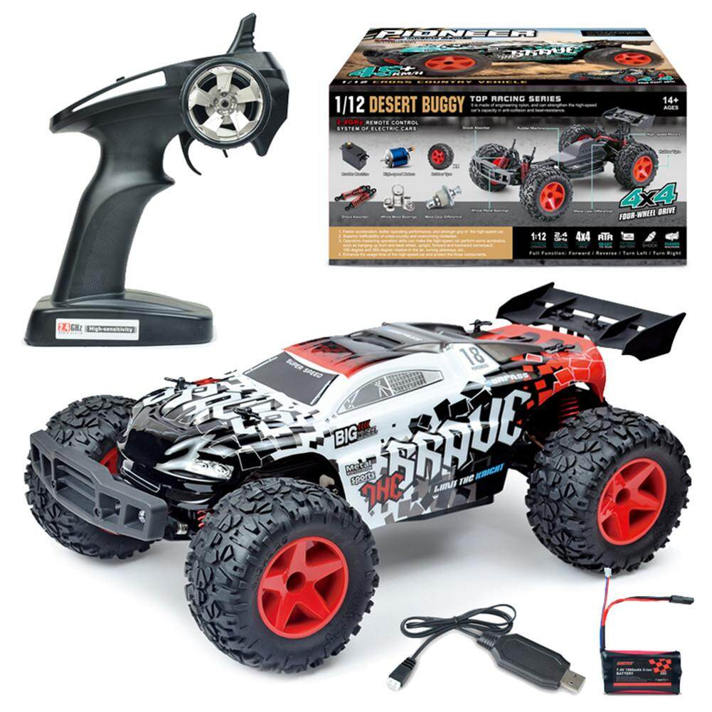 Toy Cars That You Can Drive >> Zj Subotech Bg1518 1 12 2 4g 4wd High Speed 35km H Off Road Partial Waterproof Rc Car