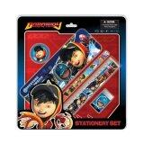 BoBoiBoy 5pcs Stationery Set - Red Colour