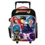 BoBoiBoy Pre School Trolley Bag - Red And Black Colour