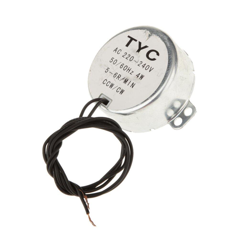 Hình ảnh BolehDeals TYC-50 AC Động Cơ Đồng Bộ 220 v 3 vòng/phút 4 wát 4Kgf. cm Mô Men Xoắn CCW/CW--Quốc Tế