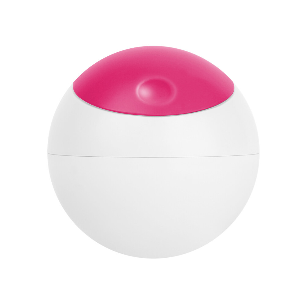 Boon Snack Ball 6oz(white/pink)