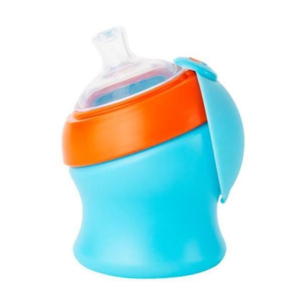 Boon Swig Spout Top Sippy Cup 7oz (Blue/Orange)