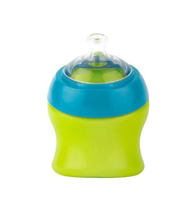 Boon Swig Spout Top Sippy Cup 7oz (Green/Blue)