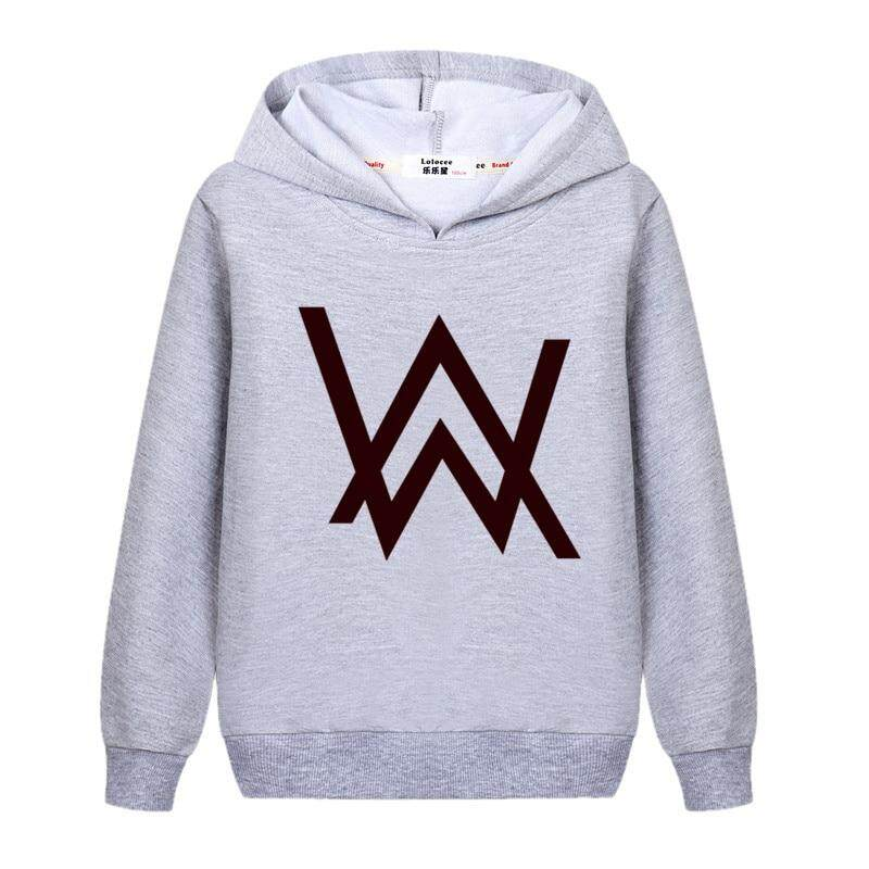 Dj-Alan-Walker Youth Sweatshirt Hooded 3D Pullover Hoodies Activewear Warm Jacket for Teen Boys and Girls