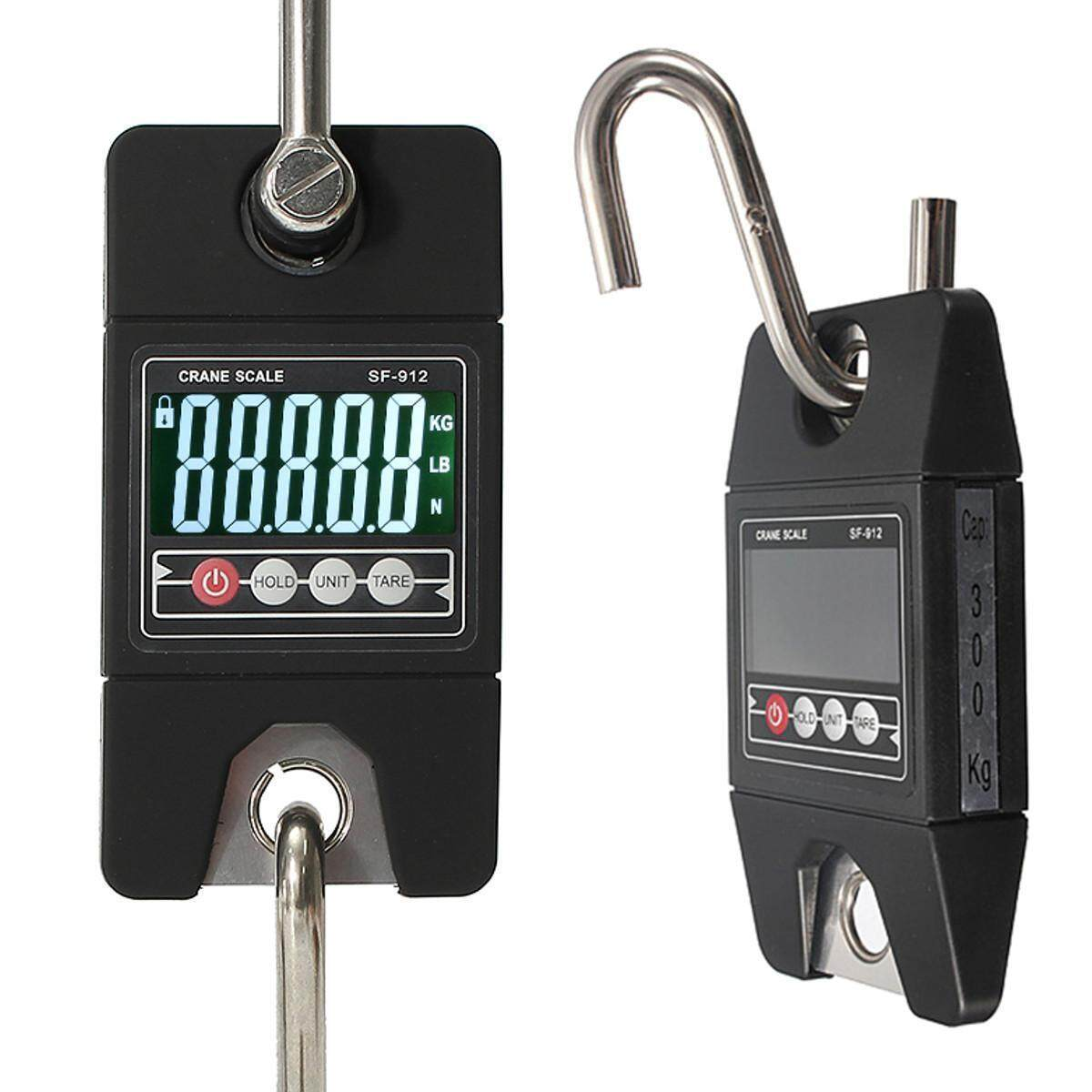 bcf1a7c5fc2b New 300 KG/600 LBS Digital Hanging Crane Scale Tool SF-912 Industrial Heavy  Duty