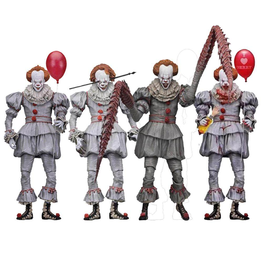 IT Pennywise 7/'/' Action Figure 2017 Clown Action Figure HalloweenGift New in Box