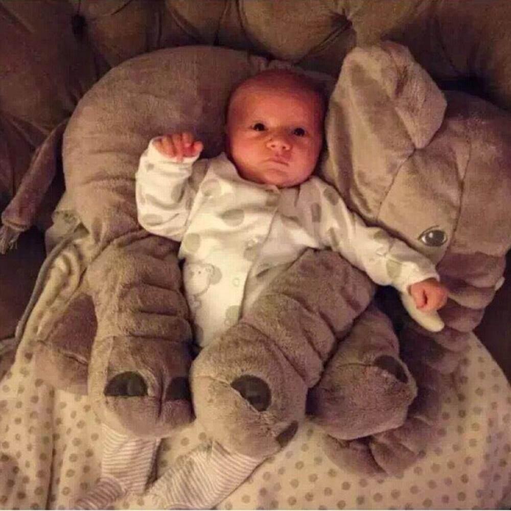 Baby Children Long Nose Elephant Doll Plush Stuff Toys