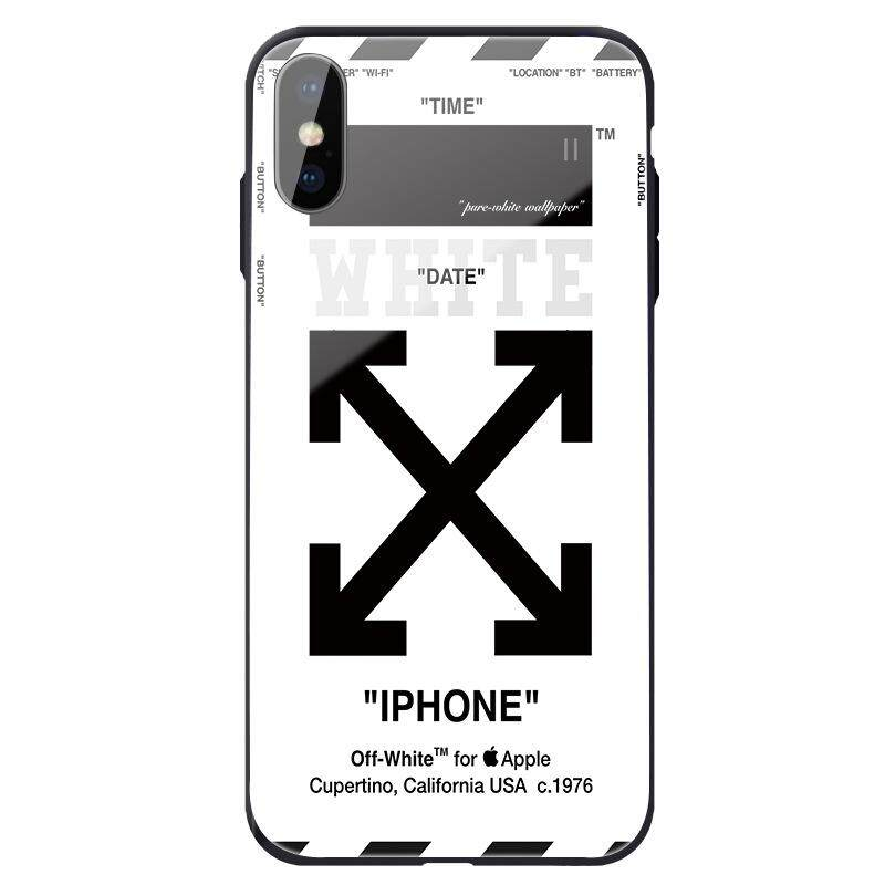 Iphone X Xr Xs Max Case 8 7 6 Plus Street Fashion Off White Bumper Cover For Apple