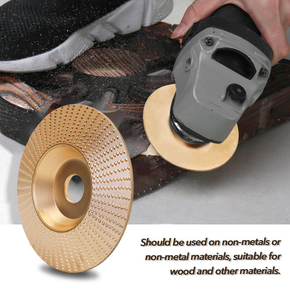 100MM Steel Wood Angle Grinding Grinder Wheel Sanding Carving Tool Abrasive Disc