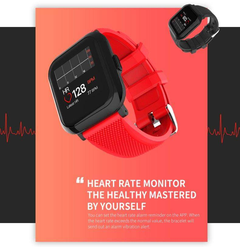 New 2019 Sports Fitness Smartwatch Db12 Healthy Heart Rate Blood
