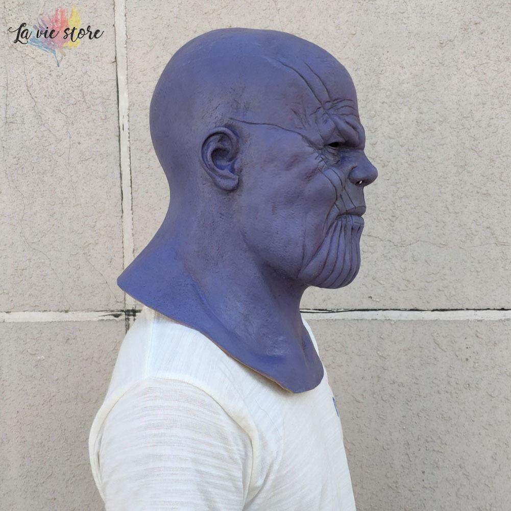 2019 Fashion Avengers Infinity War Thanos Mask Toy Halloween Cosplay Party Latex Thanos Helmet New Collection Models Birthday Gift Back To Search Resultstoys & Hobbies
