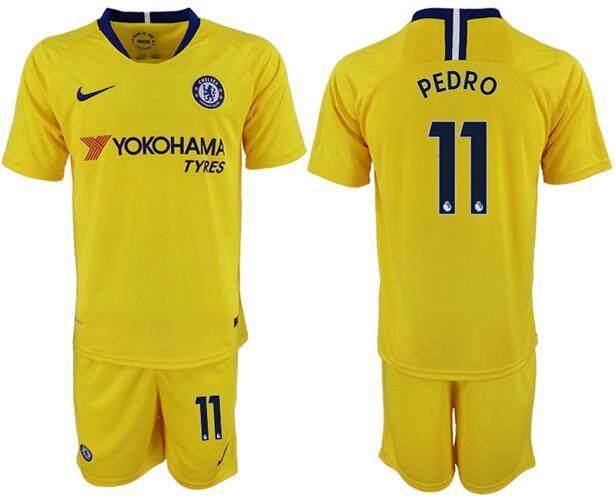 promo code 6dedd 08549 Nīke Official Premier League Chelsea Football Club #11 Away 2018-19 Season  Men Football Jersey Size S-XL Global Sales
