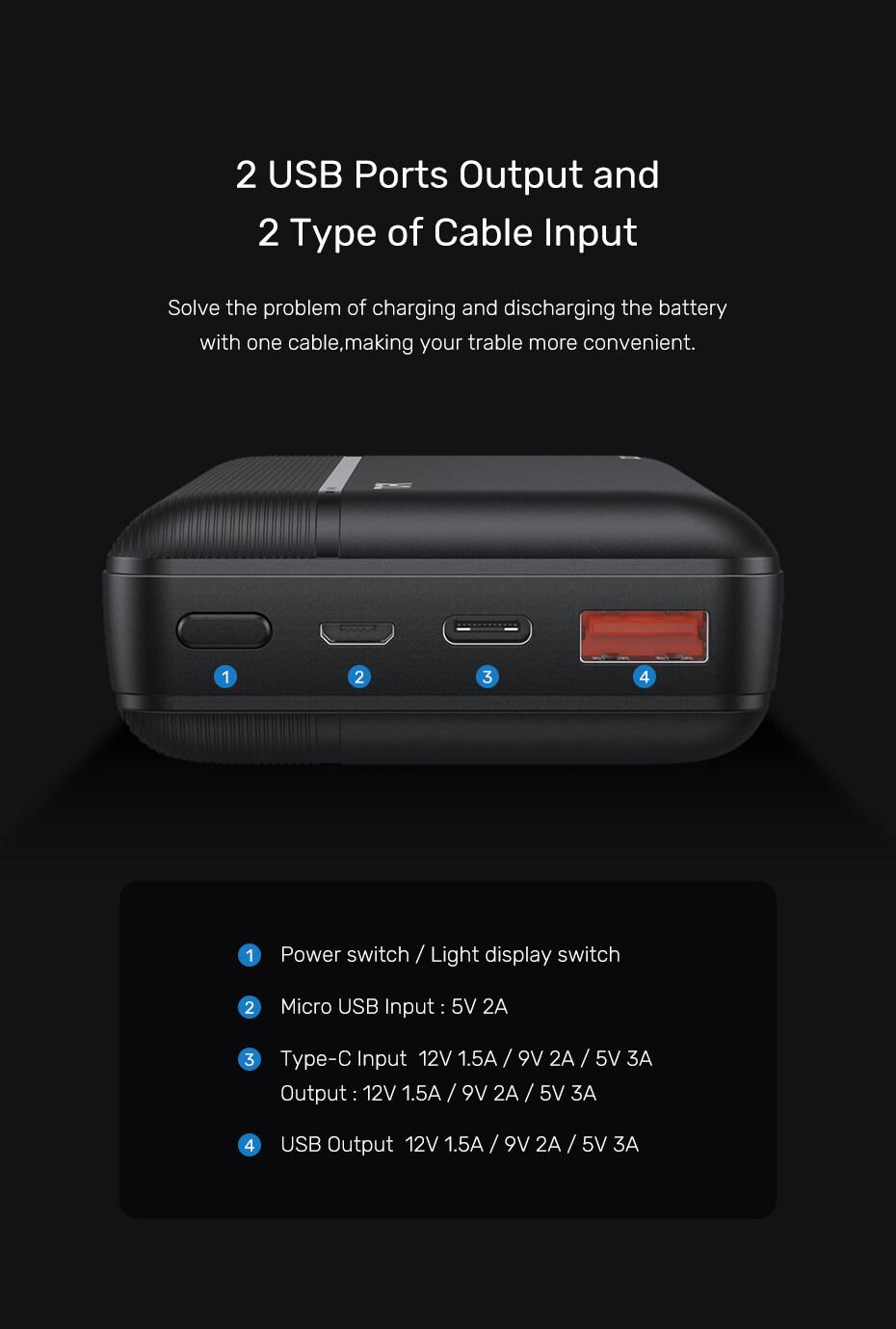 Pin sa c dư pho ng Nhanh Thông Dụng TOPK I2015P 20000 MAh 18W QC3.0 Origional Ngân Hàng Điện Dành Cho iPhone Samsung OPPO VIVO HUAWEI XIAOMI - Phân phối bởi TOPK VIỆT NAM 3