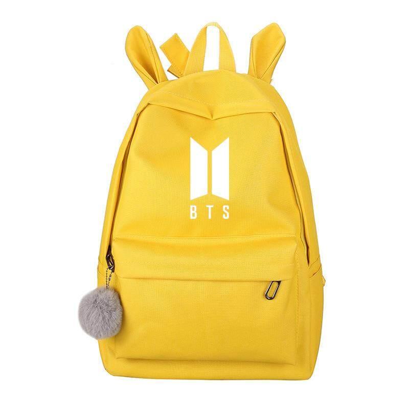 907412cc7c Specifications of Korean Style Kpop Bts Blackpink Exo Got7 Backpack Women  Monsta X Twice Wanna One School Bag Backpacks Female Sac A Dos Femme