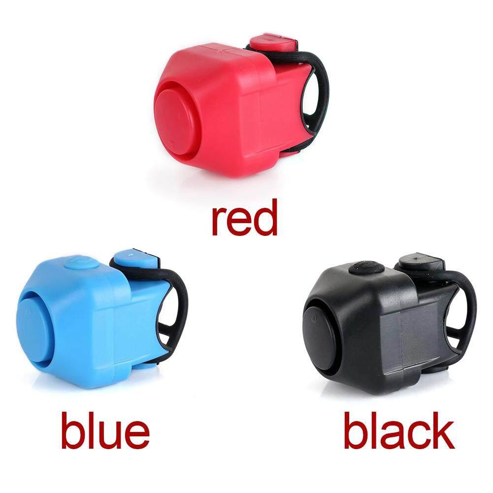 Mini Electronic Bicycle Bike Cycling Loud Horn Blue NEW