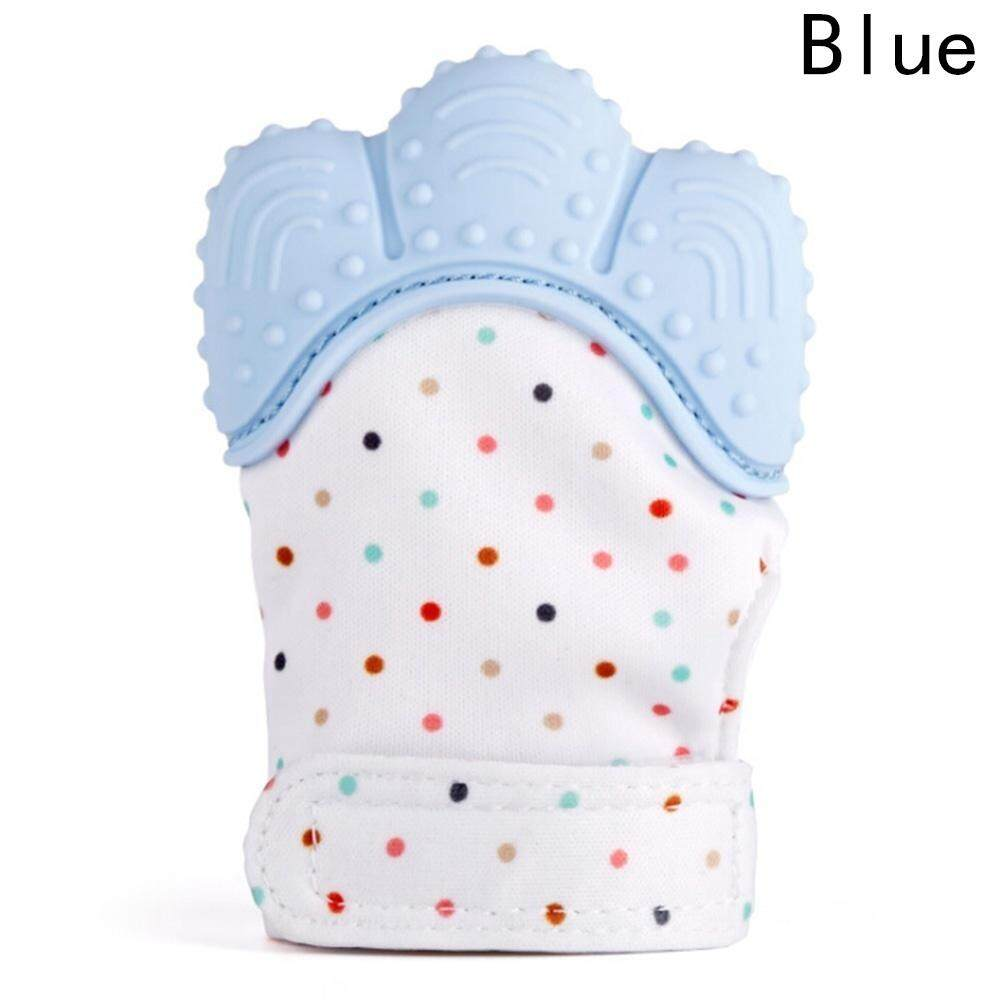 Baby Silicone Teething Mitten Self Soothing Mitten Teether Teeth Care Baby Glove