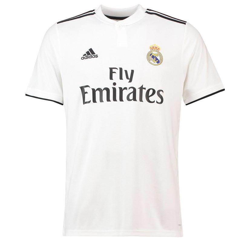 the latest da2d3 24962 La Liga Real Madrid 18-19 Champions League football team home uniform away  second Modric Benzema Bale fan jersey