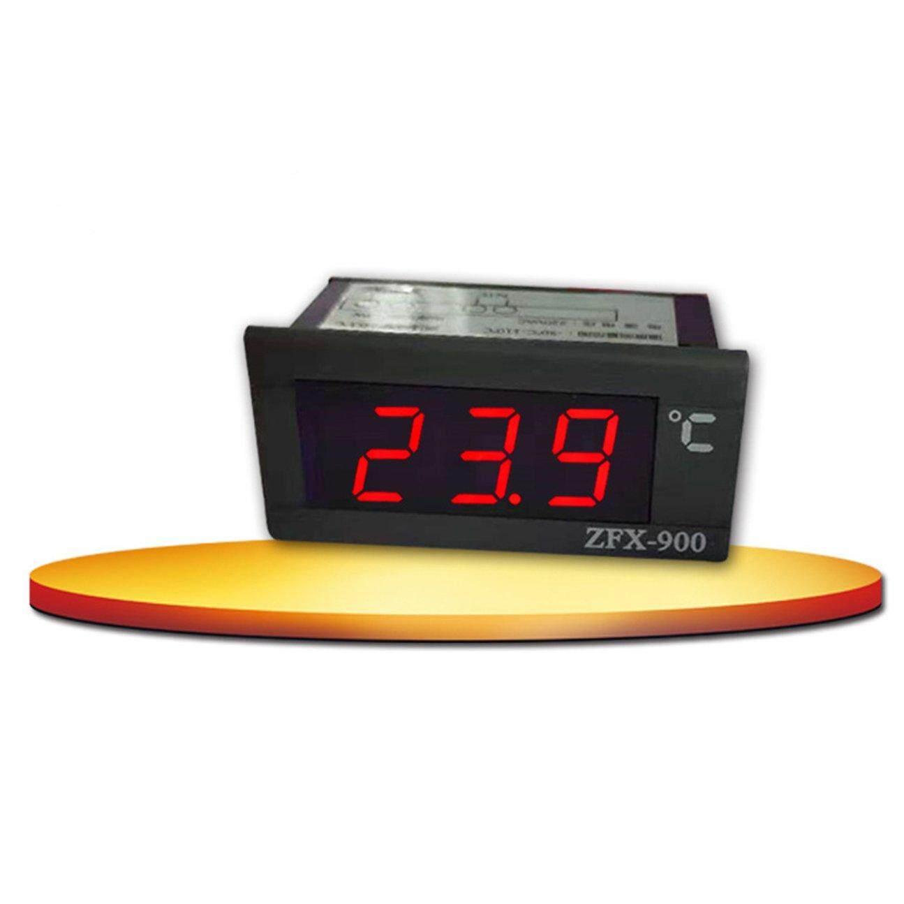 Super Deals ZFX-900 LED Display Digital Thermometer LED Temperature Monitor  Fridge Sensor