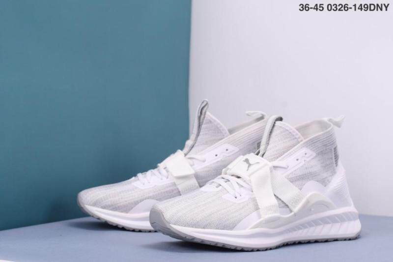 Fashion of Puma Ignite Evoknit 2 Flyer knitted high end sock shoes breathable light comfortable casual shoes running sports sneakers for menwomen