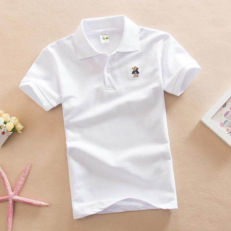 Boys Children Kids School Uniform Shirt Long /& Short Sleeve 2 Colours