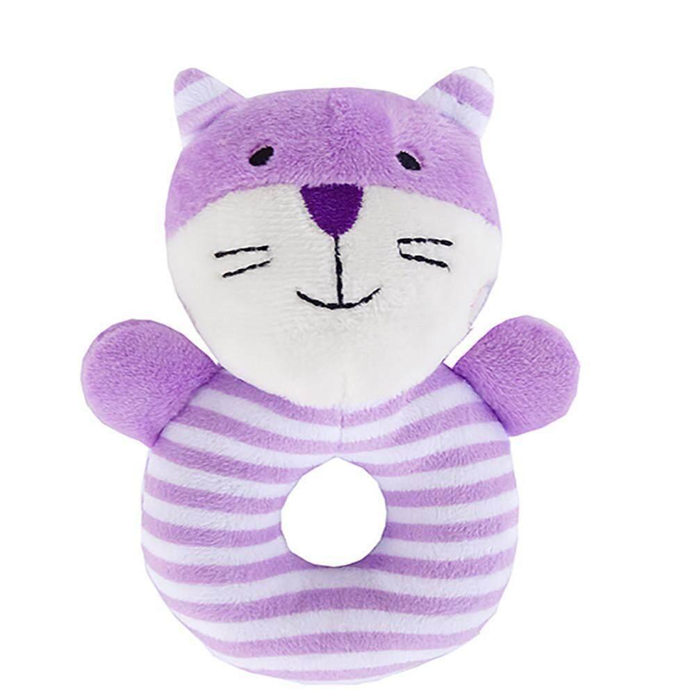 Infant Kids Animal Handbells Bed Bells Rattle Musical Developmental Best Gift