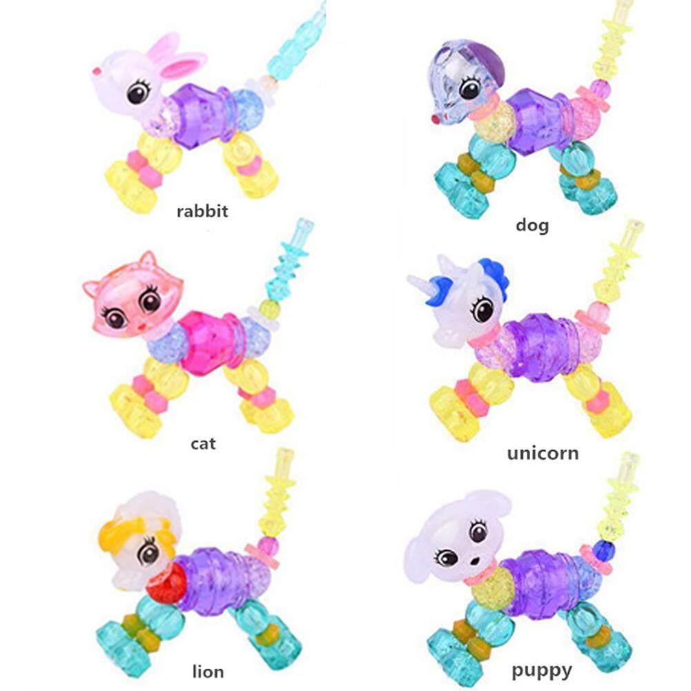 Magical Pets Bracelets magically transforms from a bracelet into a Pet  Collectible Kids Dazzling Bracelets