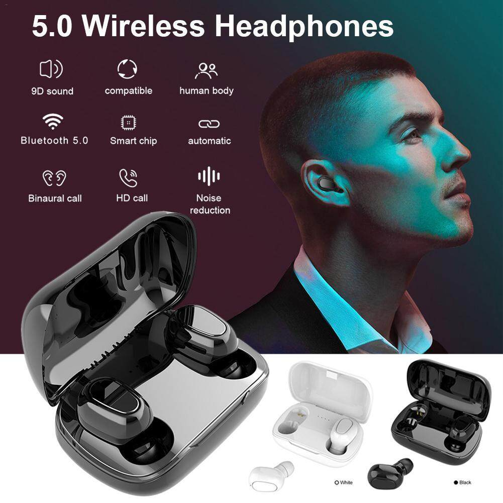 Wireless Earphones Bluetooth Headset Bluetooth V5 0 Tws Waterproof Touch Control With Microphone Sport Earbuds Noise Cancel Mini Headphone I7s I9 F9 L21 For Xiaomi Huawei Samsung Oppo Vivo Iphone Lazada Ph