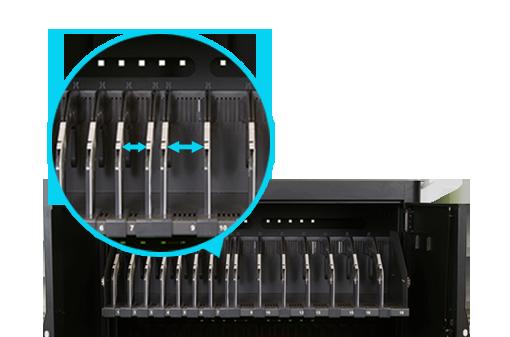 Adjustable slot design