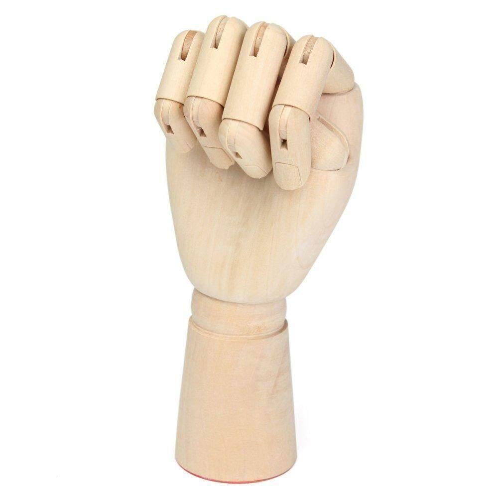 Women Hand Body Artist Model Jointed Articulated Wood Sculpture Mannequin Wooden #2 Art Mannequin Hand Model