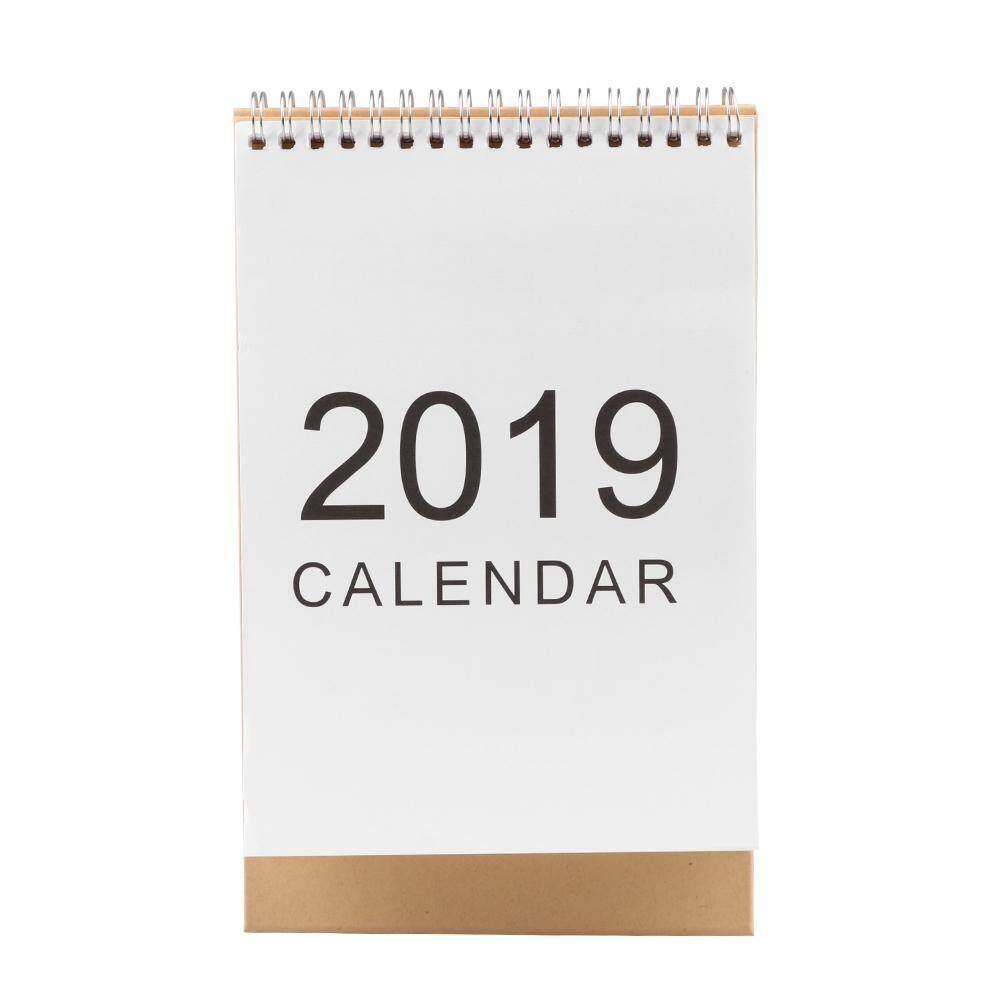 2019 Desktop Paper Calendar Daily Scheduler Table Planner Yearly Agenda