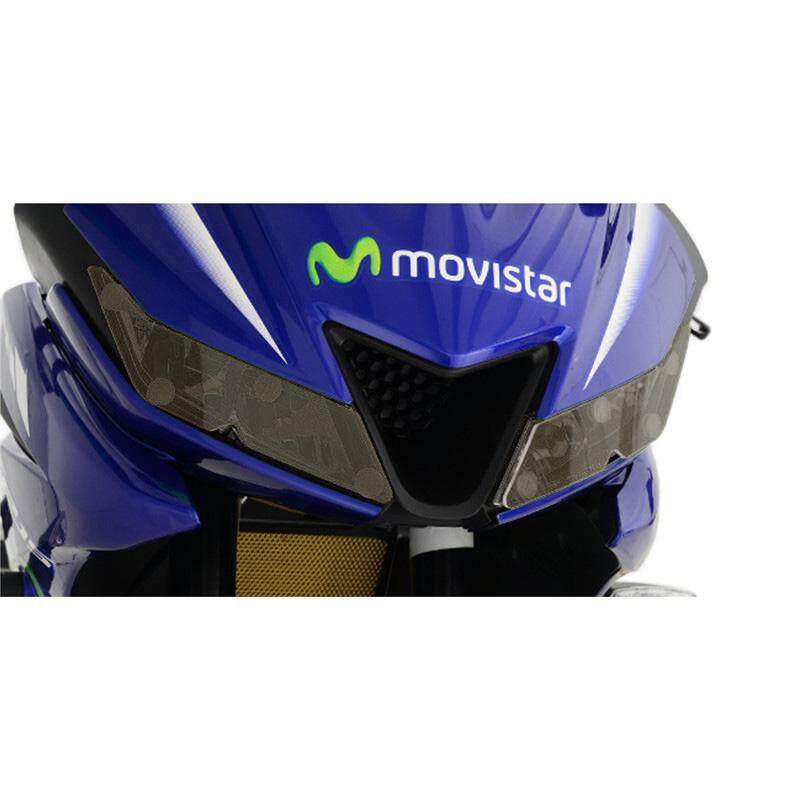 Yamaha R15 V3 Headlamp Protector -Smoke
