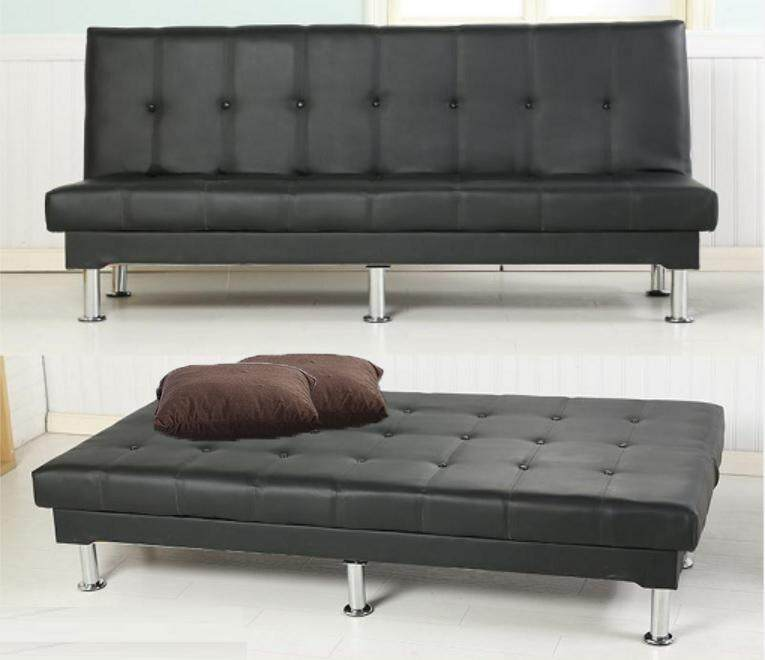 Forever 4 Seater Pu Leather Sofa Bed 6