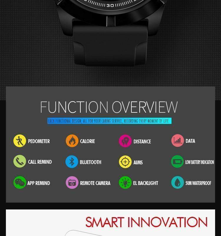 Specifications of SKMEI Men Smart Watch Bluetooth Sports Waterproof Digital  Watch Calories Pedometer Multifunction Reminder Jam tangan lelaki 1425 7e06049f8c