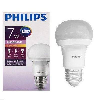 Philips Essential Led Bulb 7w E27 Warm