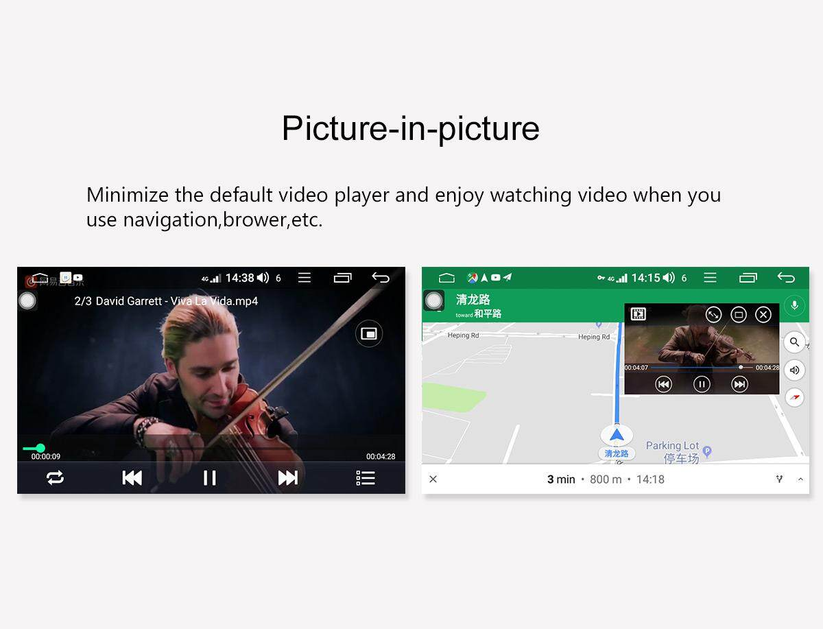 JOYING universal double din 10 1 inch car multimedia player video receivers  android 8 1 car stereo octa core 1 8GHZ intel car radio head unit support