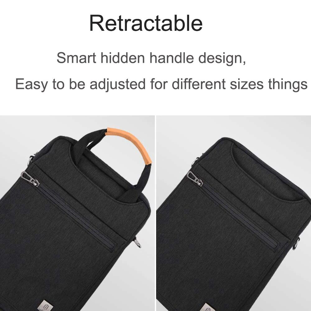 WIWU 12.9 Inch Pioneer Tablet Laptop Bag with Shoulder Strap 8