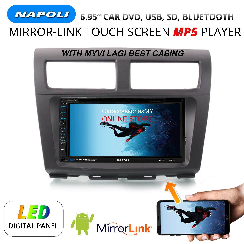 Myvi 1st GEN old NAPOLI 6 95 inch DVD player double din car