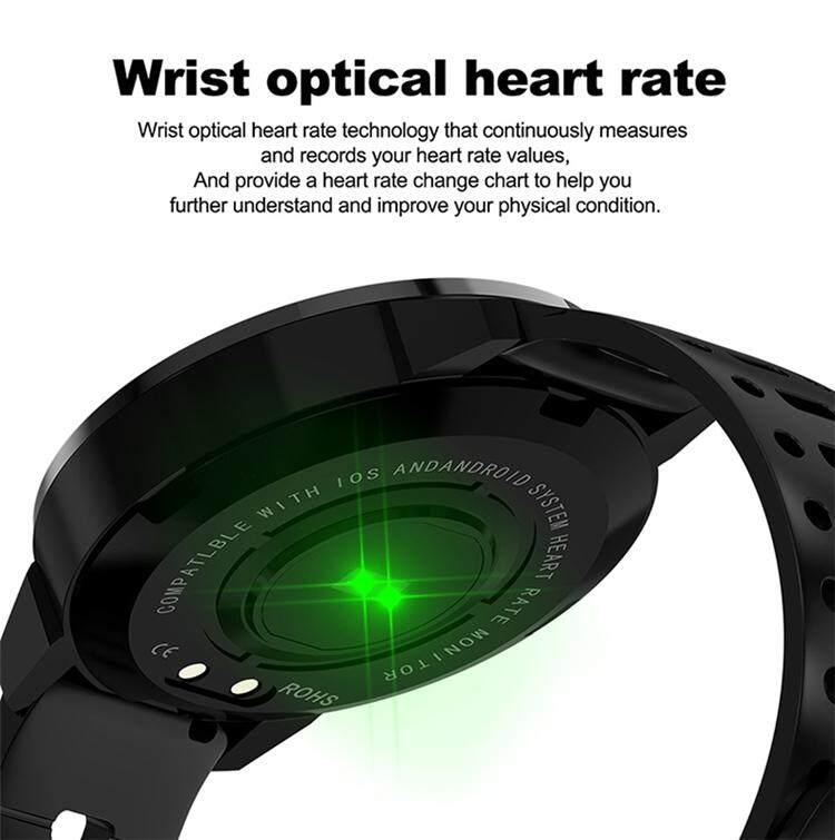 Eseed CF58 smart Watch Color Screen IP67 Waterproof - Activity Fitness  Tracker Sports Men Women Smartwatch - HD Color Screen Smart Watch for men