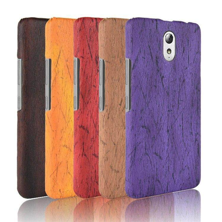 huge selection of fb75a 6eafc For Lenovo Vibe P1m Case Vintage Wood PU Leather PC hard Cover For Lenovo  p1ma40 Vibe P1m P1mc50 Phone Cases