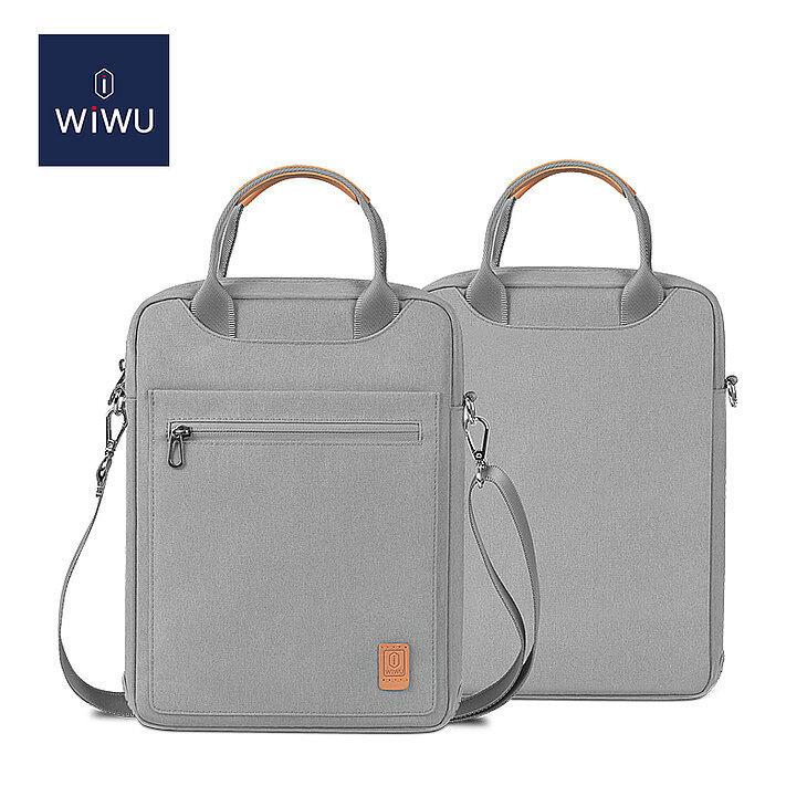 WIWU 12.9 Inch Pioneer Tablet Laptop Bag with Shoulder Strap 6