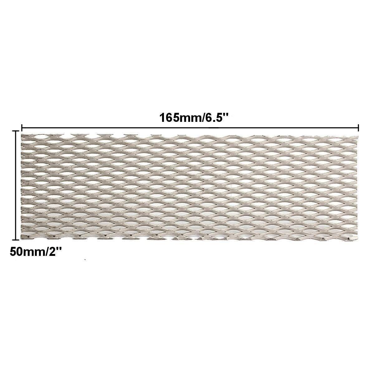 5pcs 50mm x 165mm Recycled Metal Titanium Mesh Sheet Electrode for  Electrolysis