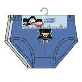 DC Comics Batman Boy's Briefs Set 100% Cotton 4yrs to 12yrs - Dark Blue, Light Blue And Grey Colour