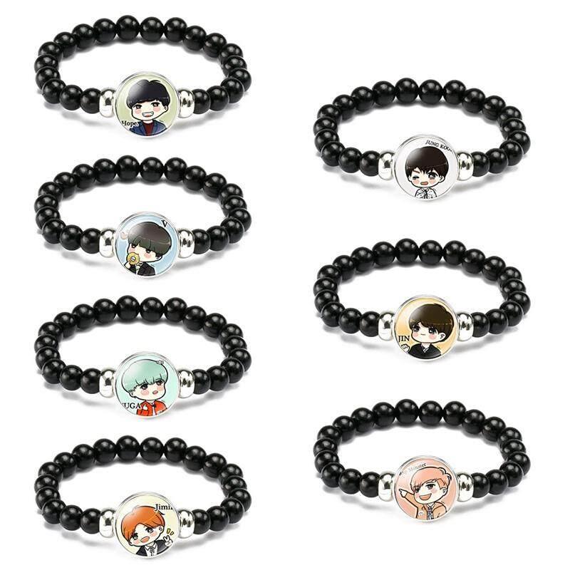 Acagedem Kpop BTS Bangtan Boys Bracelet SUGA JIMIN V Wristband Fashion  Jewelry for Unisex