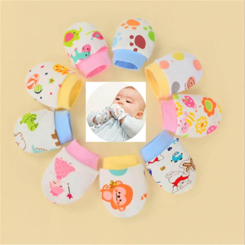 Newborn Baby gloves soft cotton anti sctratch 2 pcs