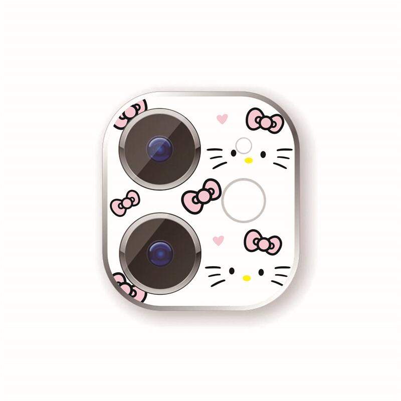 Anh Ins Đáng Yêu Hoạt Hình Ống Kính Màng Bảo Vệ Cho IPhone12 Apple 11 Camera Màng Bảo Vệ Chống Trầy Xước 24