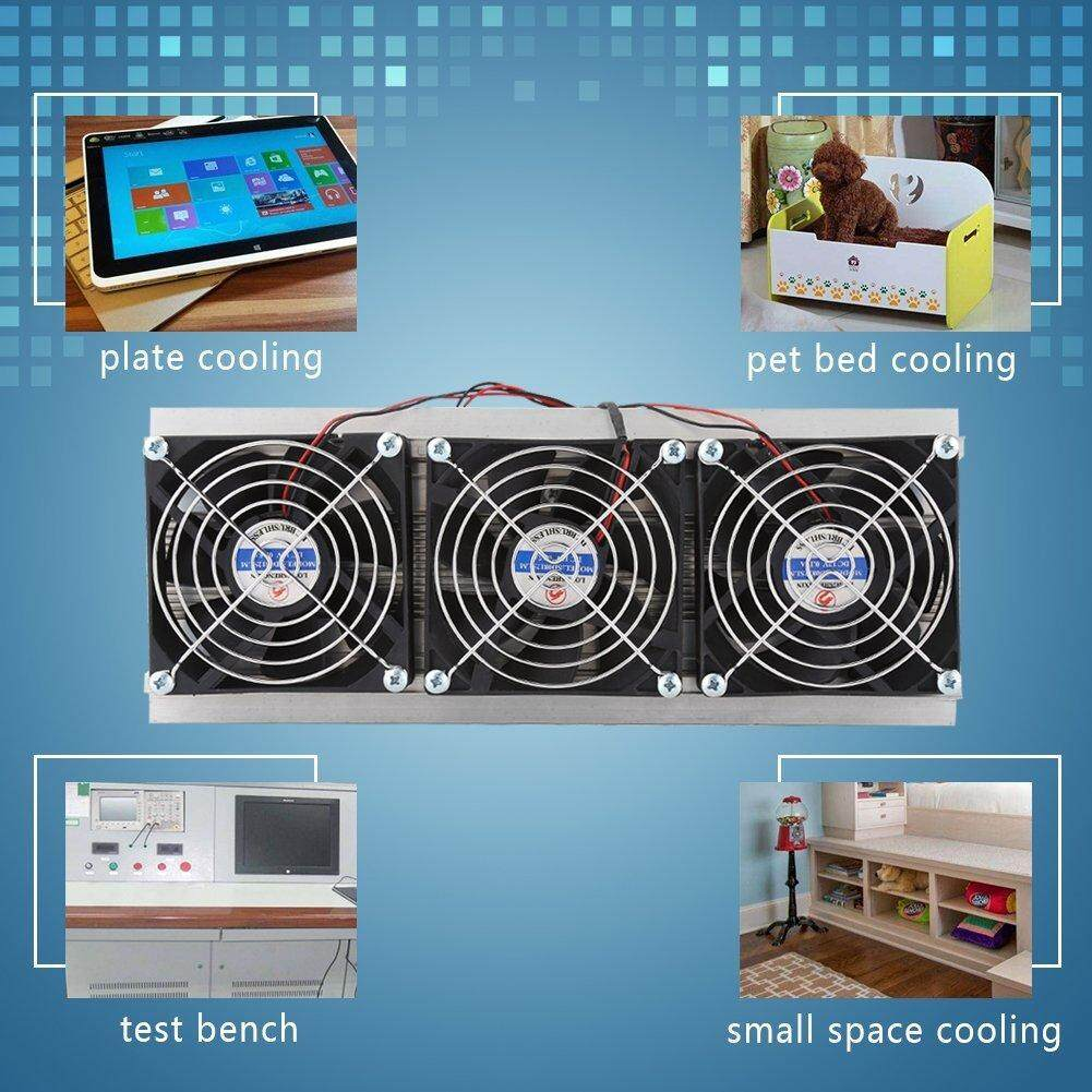 Airforce Protable DIY Mini Fridge DC 12V Semiconductor Refrigeration  Cooling Device Thermoelectric Cooler High Cooling Efficiency