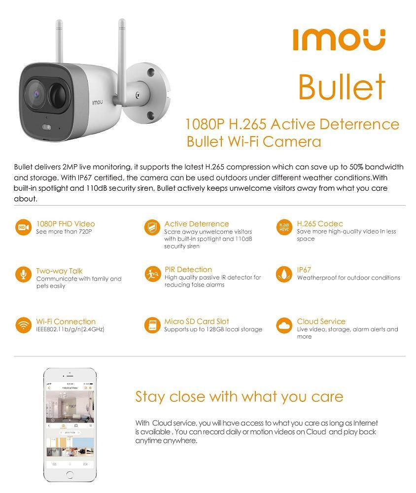 Image result for IMOU BULLET CCTV